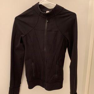 *BRAND NEW* black lululemon zip up jacket